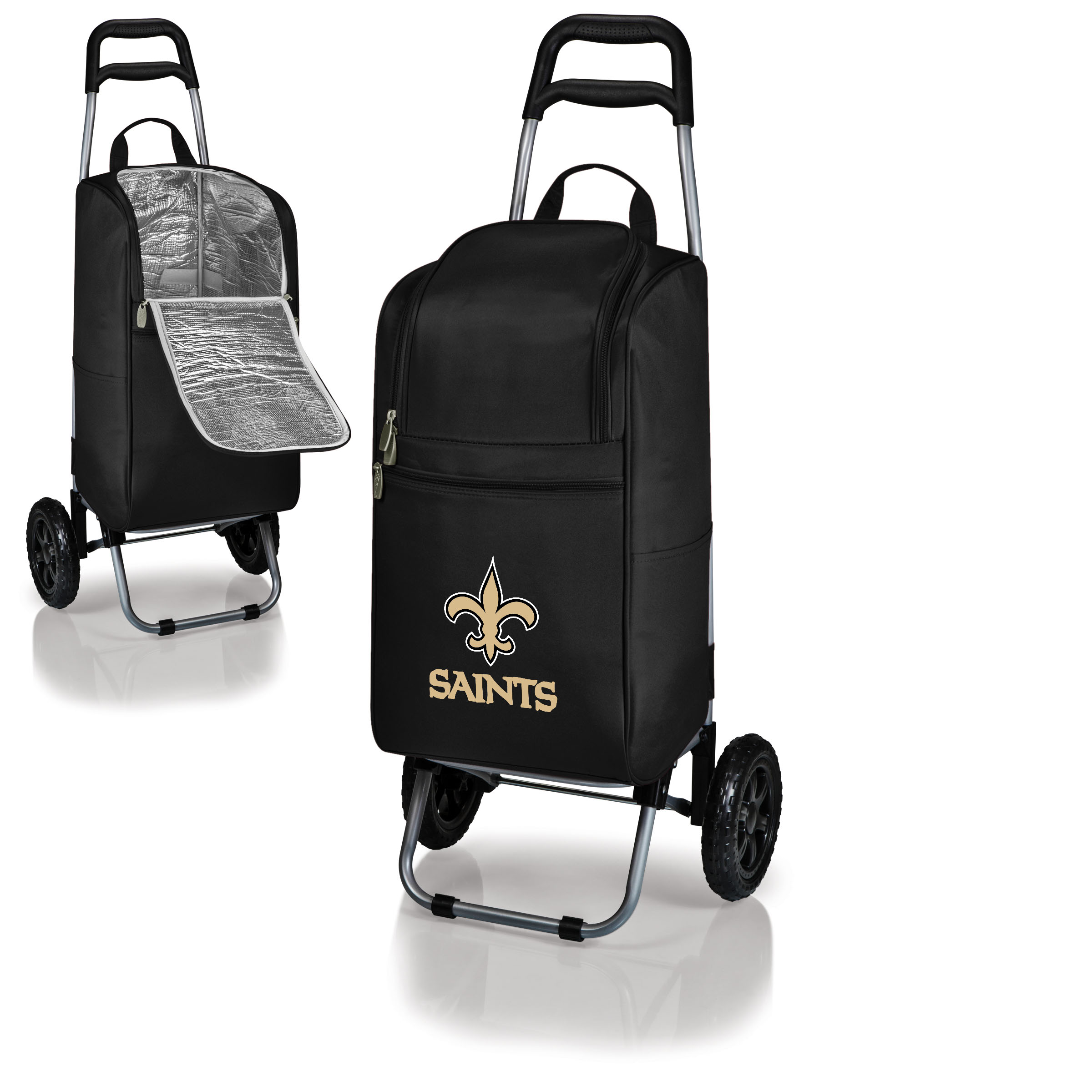 New Orleans Saints Cart Cooler - Black - No Size