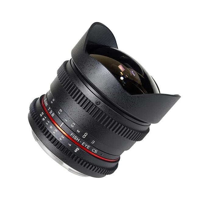Rokinon RK8MV-N 8mm T3.8 Cine Fisheye Lens for Nikon F Mount Cameras, Pack of 1 - image 1 de 1