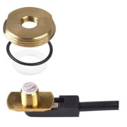 """PCTEL Maxrad 3/8""""-3/4"""" Hole Mount Antenna with Thick Plate"""