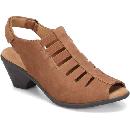 Womens Faye Open Toe Casual Ankle Strap Sandals