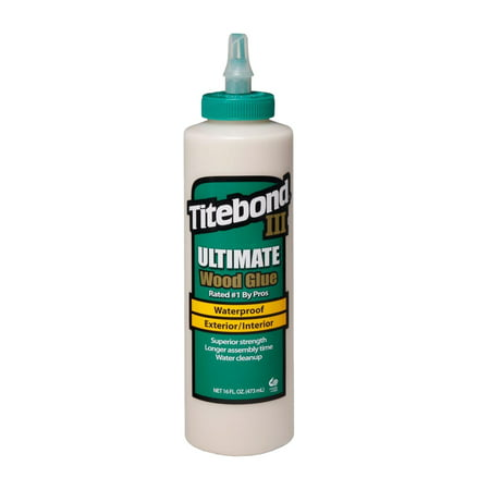 Titebond 3 III Ultimate Wood Glue, 16 Oz
