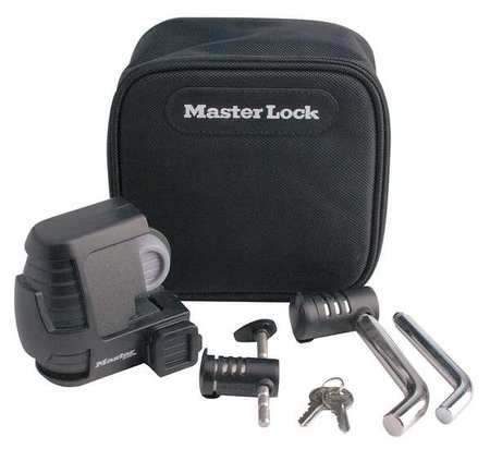 MASTER LOCK 3794DAT Coupler Lock,Laminated Steel