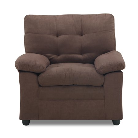 Mainstays Buchannan Upholstered Chair, Multiple Colors ()