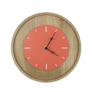 Northlight Seasonal Basic Luxury 11.5'' Decorative Wall Mounted Clock