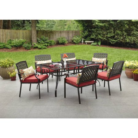 Alexandria Crossing 7 Piece Patio Dining Set Seats 6