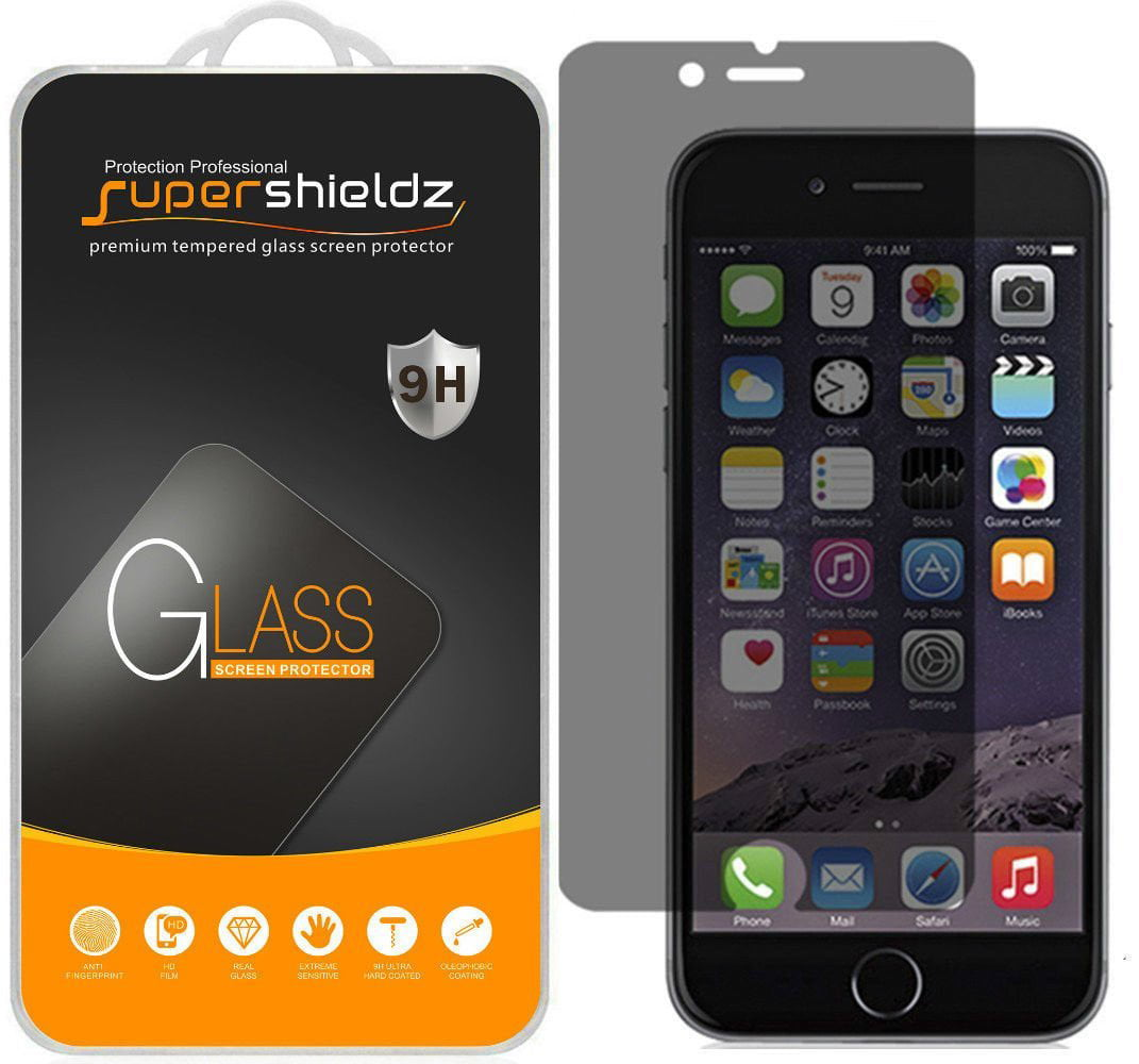 detailed look e08a2 bdfe3 [1-Pack] Supershieldz for Apple iPhone 6 Plus Privacy Anti-Spy Tempered  Glass Screen Protector, Anti-Scratch, Anti-Fingerprint, Bubble Free