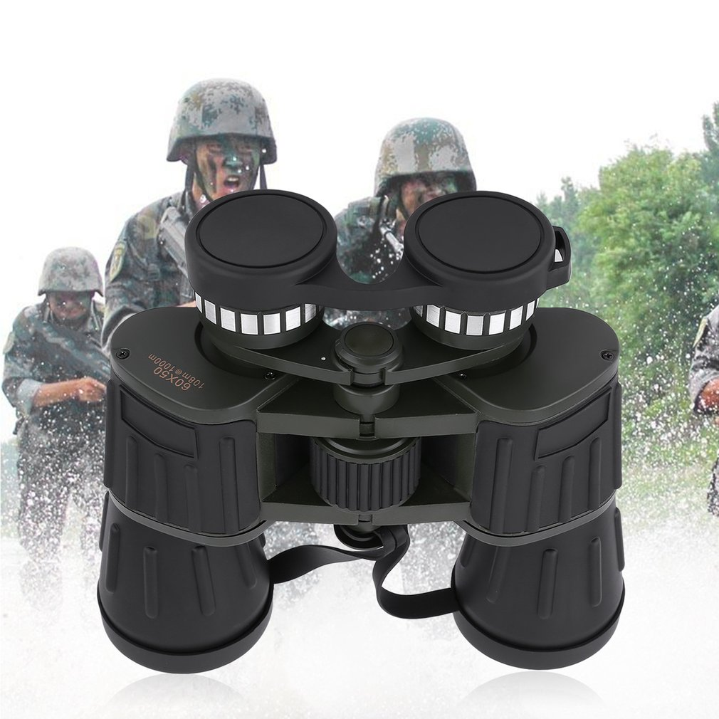Outdoor Day Night Magnification 60x50 Military Army Zoom Binoculars Telescope