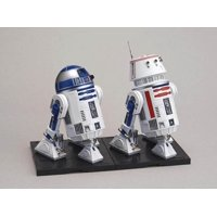 R2-d2 And R5-d4 Droid Star Wars Model Kit