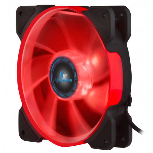 XFR-012LBR-PWM Red LED 120 x 120 x 25mm Case Fans