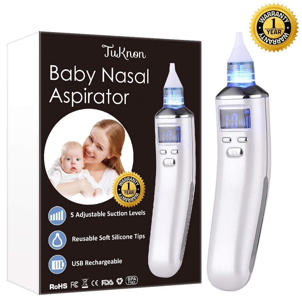 Baby Electric Nasal Aspirator Snot Sucker Adult Blackhead Remover Screen W// LCD
