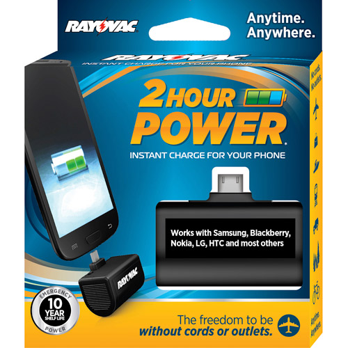 Rayovac 2-Hour Power Micro Charger
