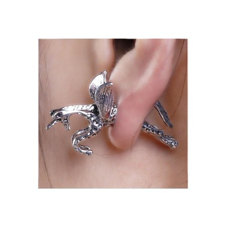 SEXY SPARKLES Sexy Sparkles Pegasus Flying Horse 3D Double Sided Ear Stud Earrings for - Pegasus Earrings