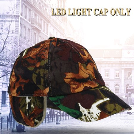 Lv. life Lightweight LED Cotton Adjustable Baseball Cap Headlight Hat Night  Fishing Running 9f669b6b60c
