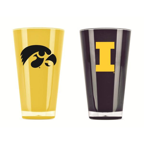 Iowa Hawkeyes Tumblers - Set of 2 (20 oz)