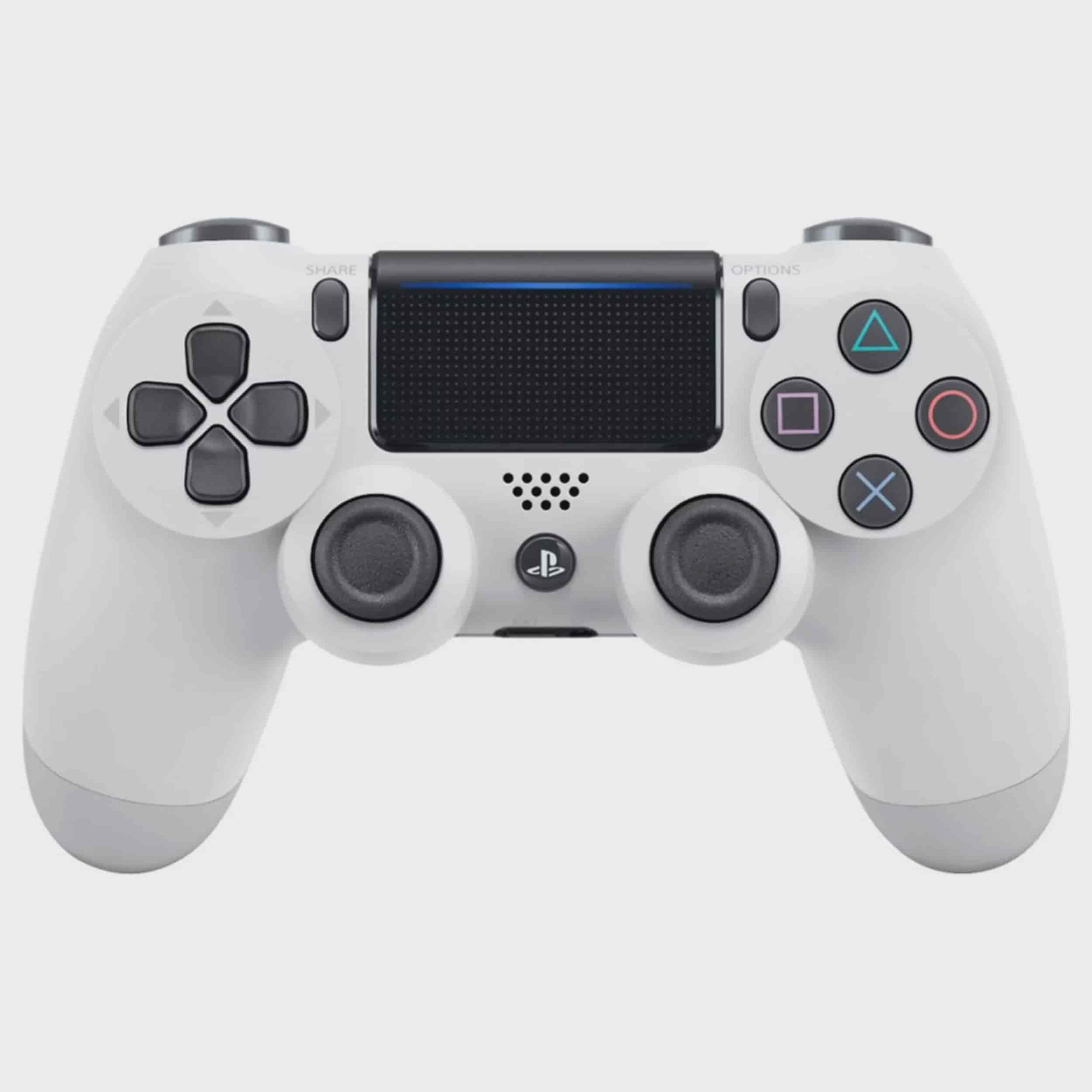 Sony Playstation 4 Dualshock 4 Controller Glacier White Walmart