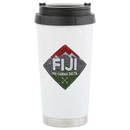 CafePress - Phi Gamma Delta M - Stainless Steel Travel Mug, Insulated 16 oz. Coffee Tumbler