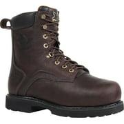 "Georgia Men's 8"" Internal Metatarsal Brown Boots 12 W"