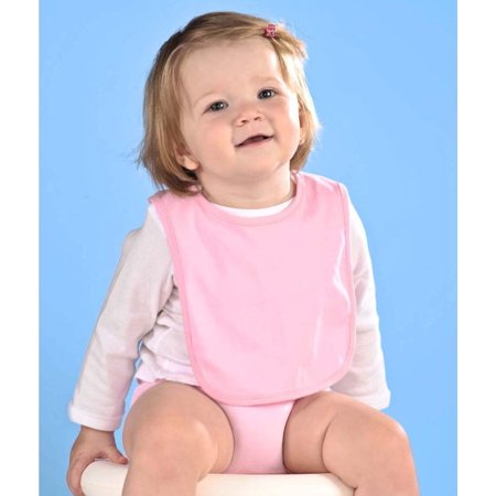 Rabbit Skins R1005 Infant Plain Infant Self-Adhesive Bib