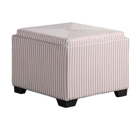 Outstanding Breakwater Bay Nathan Stripes Single Tufted Storage Ottoman Camellatalisay Diy Chair Ideas Camellatalisaycom
