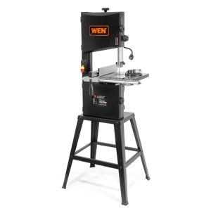 "WEN 10"" Two-Speed Band Saw with Stand and Worklight"