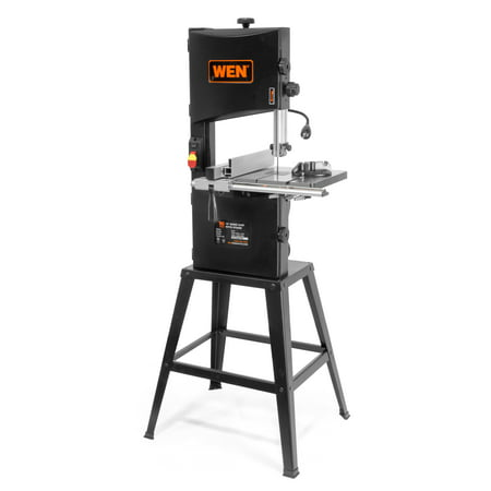 WEN 10-Inch Two-Speed Band Saw With Stand And Worklight, 3962 320 14' Band Saw