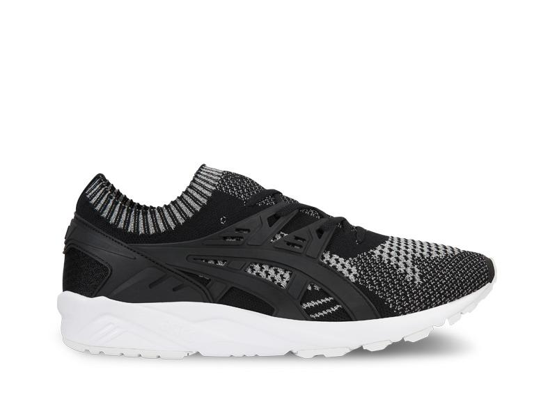 Mens Asics Gel Kayano Trainer Knit 3M Silver Black White H7S3N-9390