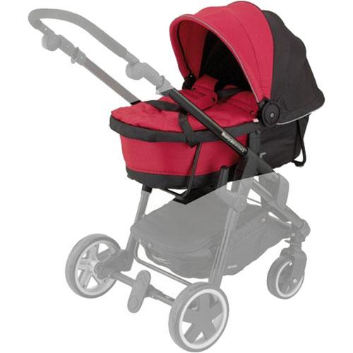 Kiddy 56-120-CC-055 - Click n Move 3 Carrycot - Cranberry