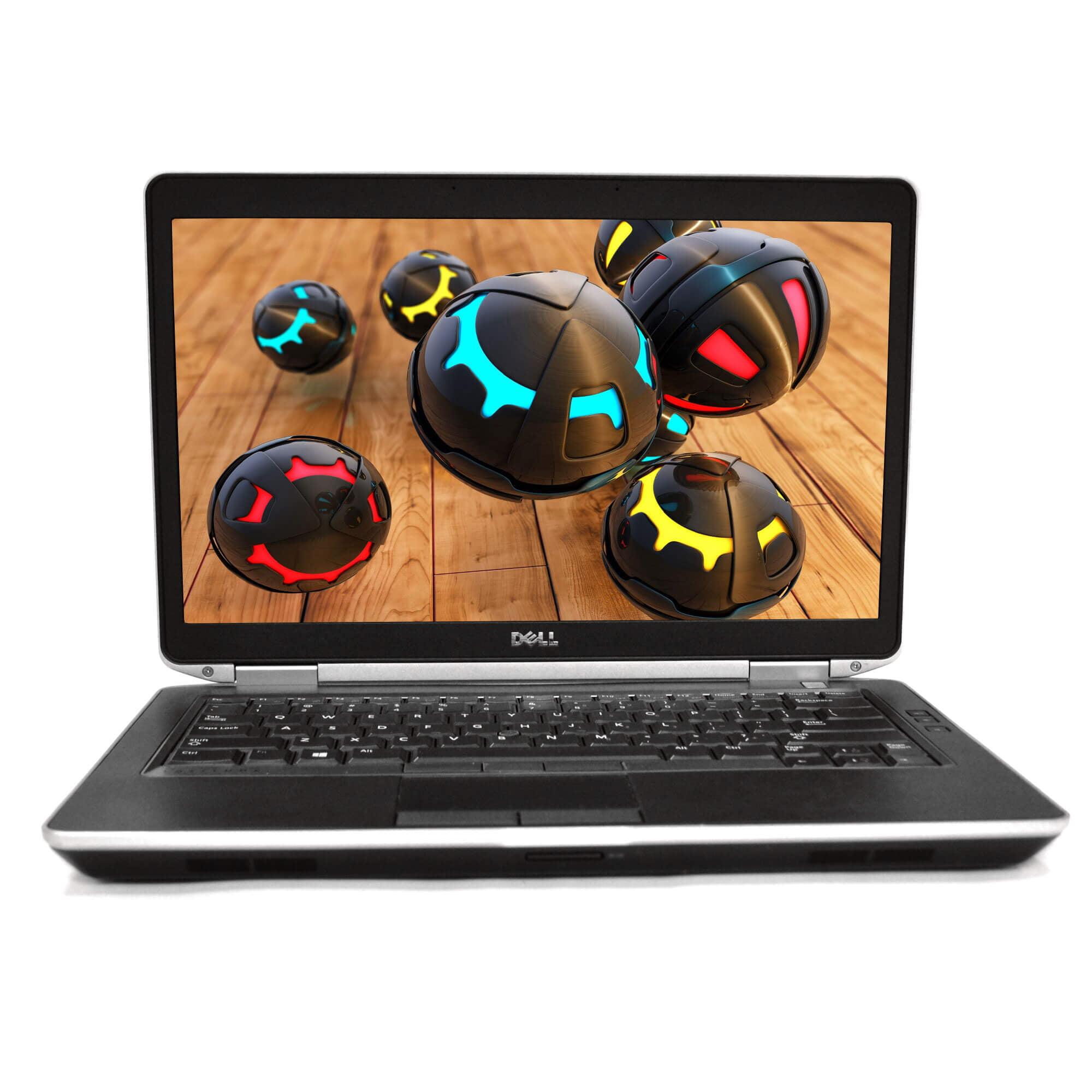 Refurbished Dell Black Latitude E6430 14'' PC Laptop Intel i5 Dual Core 2.5GHz 8GB RAM 1TB HDD Intel HD Graphics 4000 1368 x 768 Display Windows 10 Professional 64-Bit