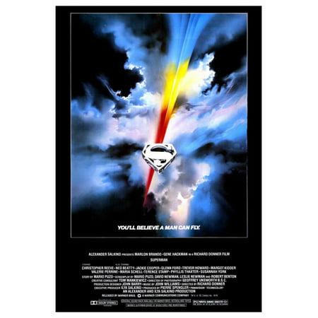 1978 Halloween Movie Poster (Superman: The Movie (1978) 27x40 Movie)