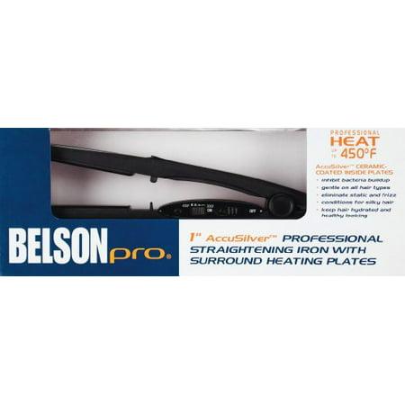 Belson Pro 1 Accusilver Professional Straightening Iron Walmartcom