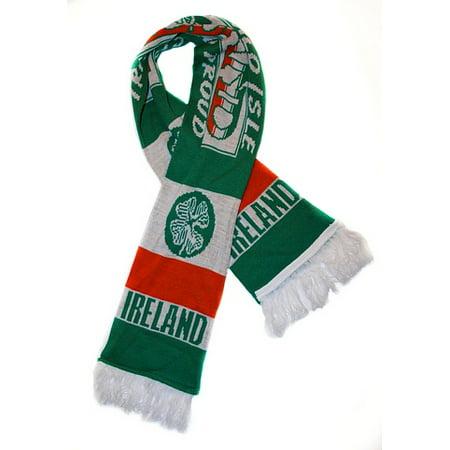 Premiership Soccer Usa Fan Scarf - Ireland Fan Scarf | Premium Soccer Fan Scarf