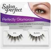 Salon Perfect Perfectly Glamorous False Lashes, 615 Black