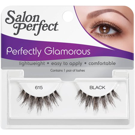 salon perfect perfectly glamorous false lashes 615 black