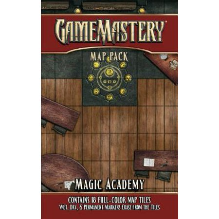 Gamemastery Map Pack: Magic Academy (Gamemastery Flip Map)
