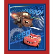 Springs Creative Disney Cars Speed Racing Panel Fabric by the Yard
