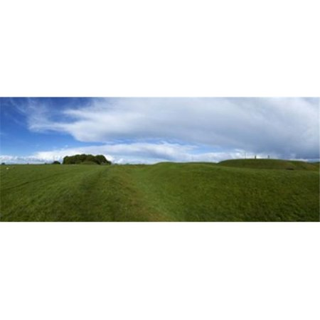Panoramic Images PPI138301L The Hill of Tara  Showing a Distant Lia Fail Stone  County Meath  Ireland Poster Print by Panoramic Images - 36 x 12 - image 1 of 1