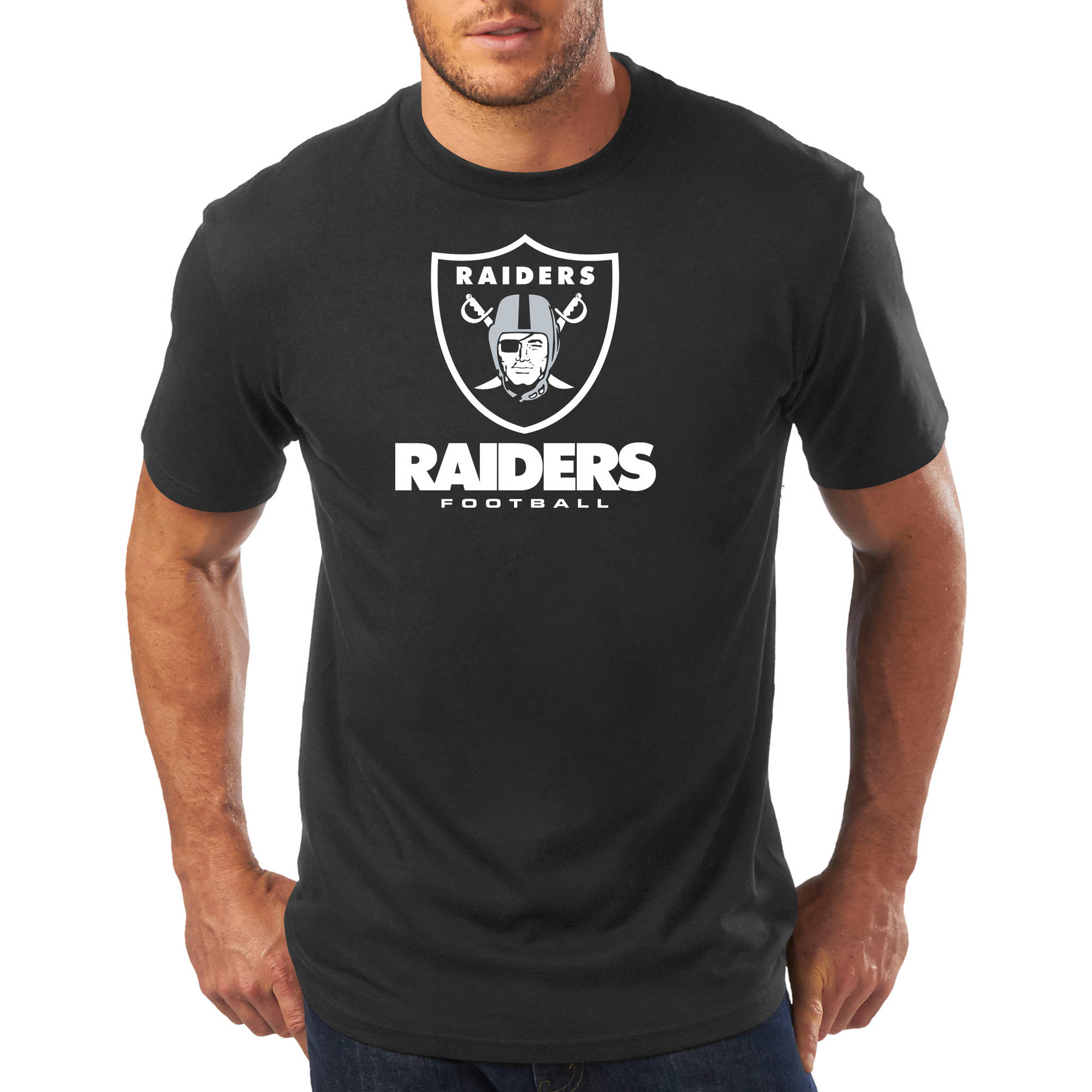 Big Men's NFL Oakland Raiders Short Sleeve Tee