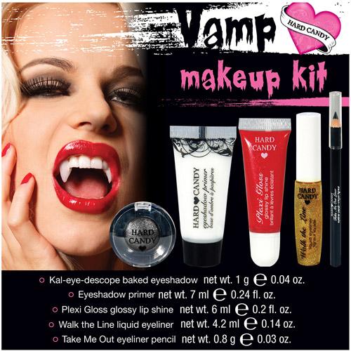 Hard Candy Vampire Halloween Makeup Kit, 1ct
