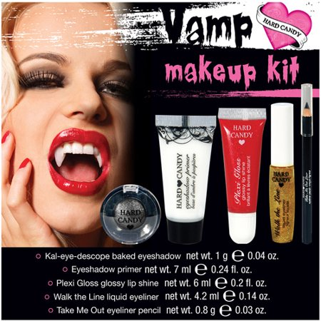 Hard Candy Vampire Halloween Makeup Kit, 1ct - Walmart.com