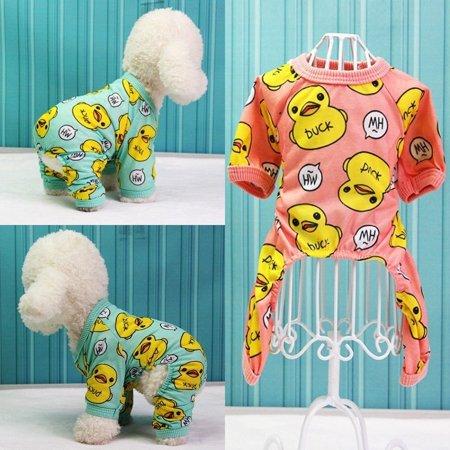 Chihuahua Puppy Clothes - Dog Pajamas Cotton Dog Clothes Chihuahua Yorkie Puppy Clothing for Dog Jumpsuit