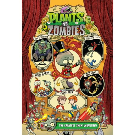 Plants vs. Zombies Volume 9: The Greatest Show Unearthed covid 19 (Plants Zombies Pattern coronavirus)