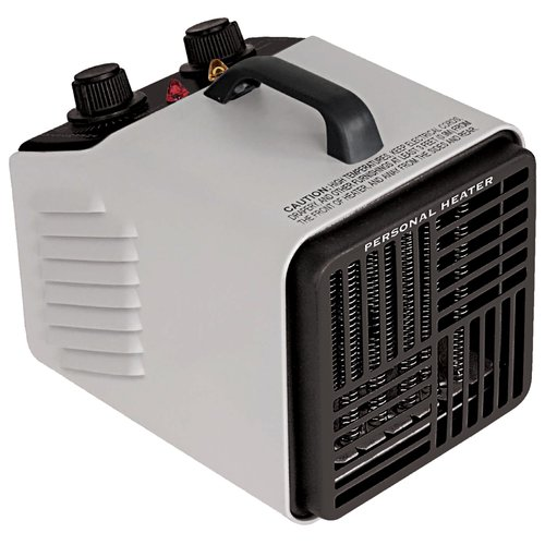 Pro Fusion Heat QGW15-447A 1500 Watt Gray Utility Fan Heater