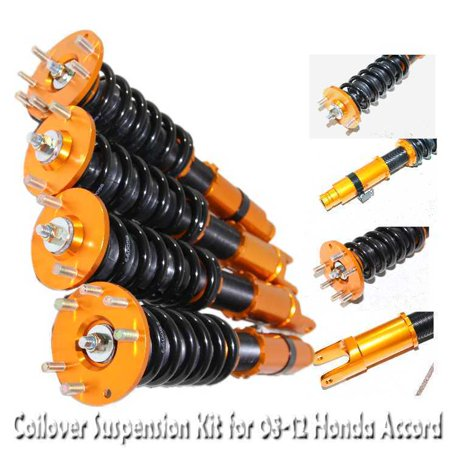 Coilover Suspension Kit GOLD for 08-12 Honda Accord