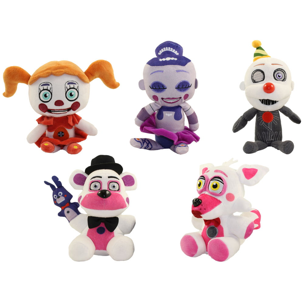Funko Collectible Plush Five Nights At Freddy S Sister Location Set Of 5 Walmart Com