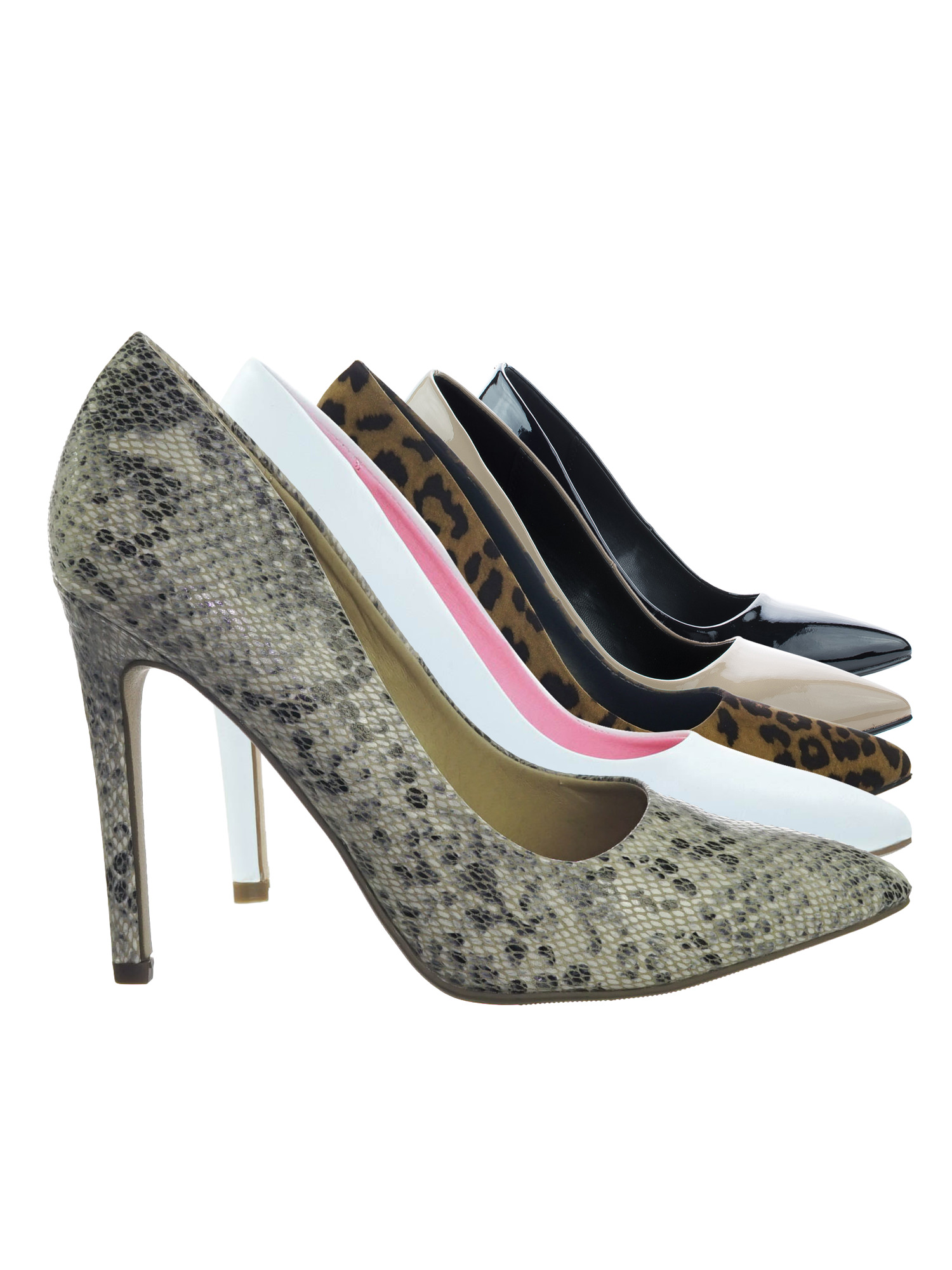 Cindy by Delicious, Women's Classic Style High Heel Stiletto Pointy Toe Slip On Dress Pumps