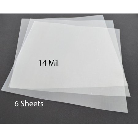 14Mil .35mm Clear Mylar Sheets Blank Stencils airbrush Quilting 12