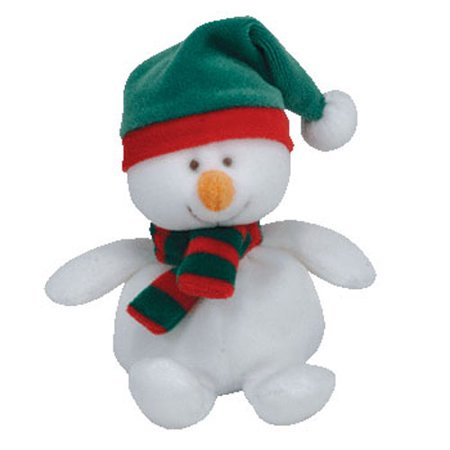 TY Jingle Beanie Baby - ICECAPS the Snowman (5 inch)