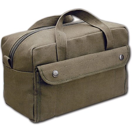 World Famous Canvas Tool Kit Bag, Olive, Designed from U.S. Army Issue - image 1 of 1