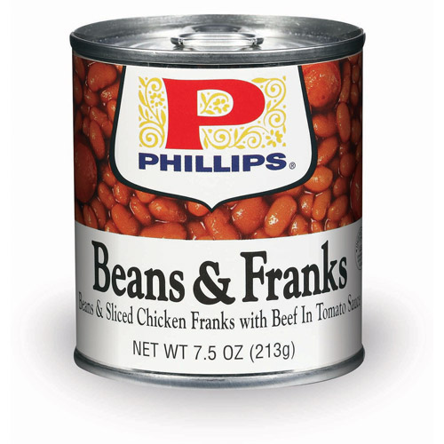 Phillips With Beef And Tomato Sauce Beans & Franks, 7.5 Oz