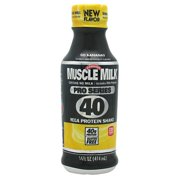 Muscle Milk Pro Series 40 Protein Shake, Go Bananas, 14 Oz (Innerpack of 12)